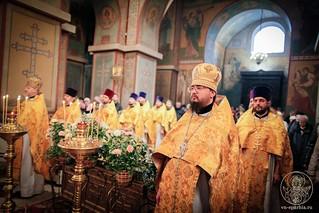Литургия в Софийском соборе 140