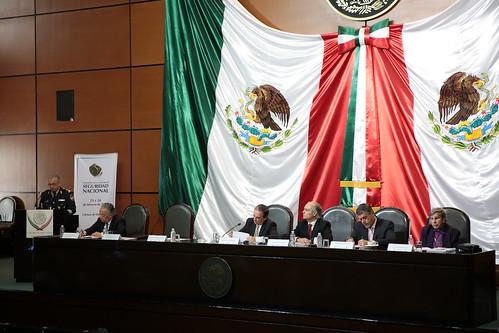 El jueves 23 de febrero de 2017 se llevó a cabo la Inauguración y mesa I del Congreso: Cultura de seguridad nacional en la H. Cámara de Diputados.