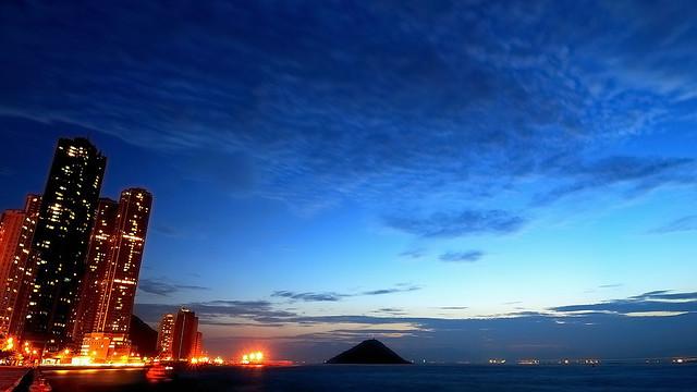 Sunset Glow (晚霞) @ Kennedy Town, Hong Kong