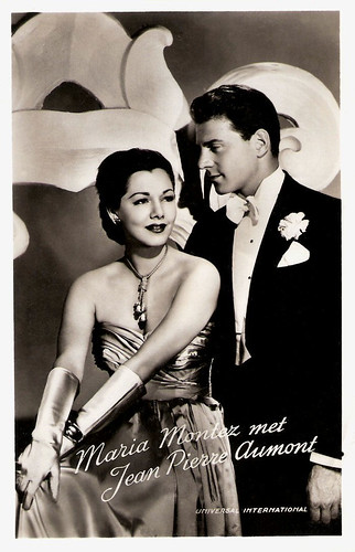 Maria Montez and Jean Pierre Aumont