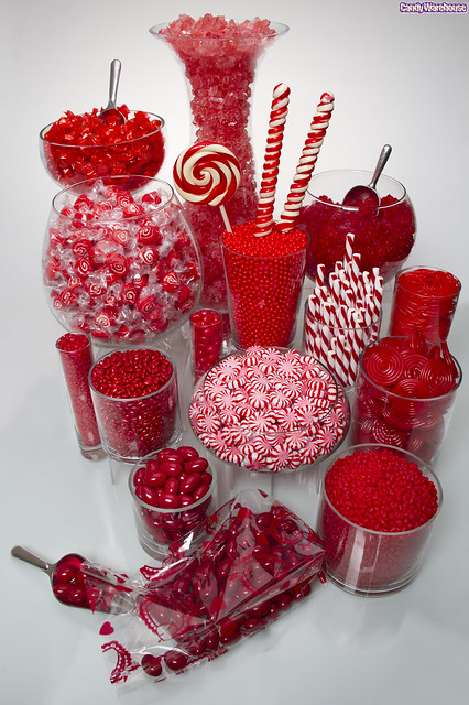 Red candy buffet flickr photo sharing