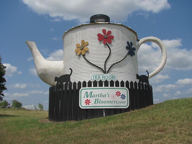 World's Largest Teapot, Navasota TX