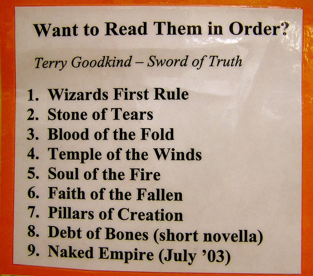 Talk:Terry Goodkind/Archive 1