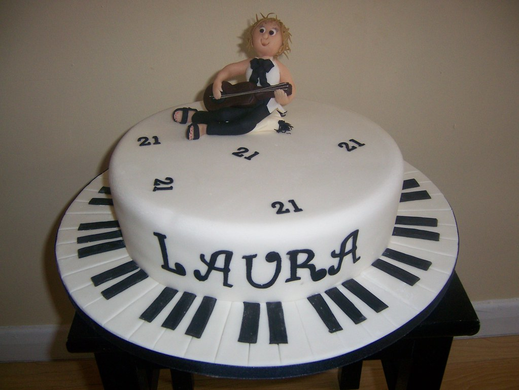 Black White Music Cake A Photo On Flickriver