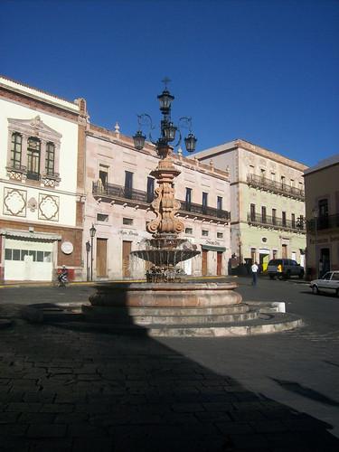 La Fuente De Los Faroles Zacatecas Zacatecas En El Rumbo