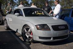 executive car(0.0), automobile(1.0), automotive exterior(1.0), audi(1.0), family car(1.0), wheel(1.0), vehicle(1.0), automotive design(1.0), rim(1.0), audi tt(1.0), bumper(1.0), land vehicle(1.0), coupã©(1.0), sports car(1.0), motor vehicle(1.0),