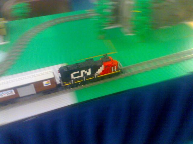 Lego CN Model Train