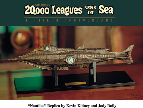 "20,000 Leagues Under The Sea ""Nautilus"" Replica by Miehana"