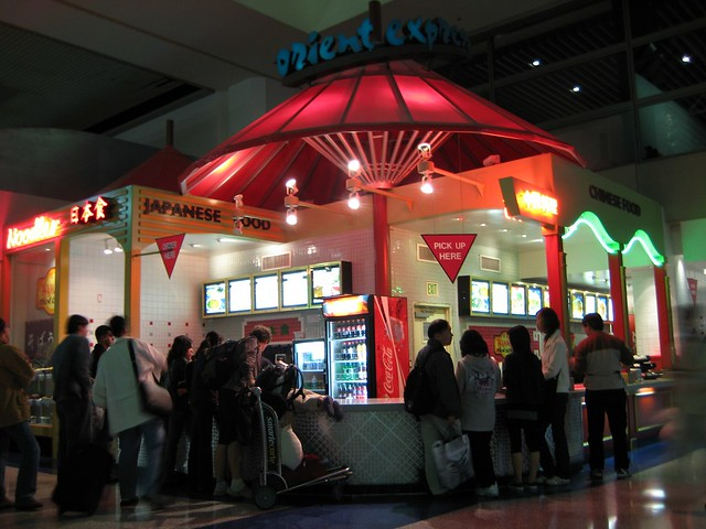 lax tom bradley international terminal food court flickr photo