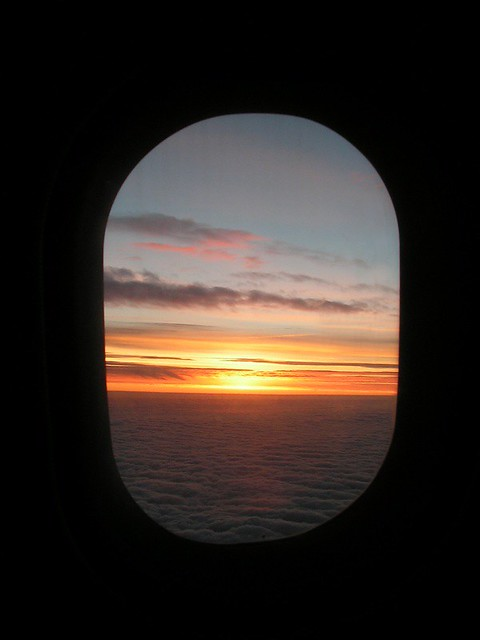 Airplane Window As Frame - a photo on Flickriver