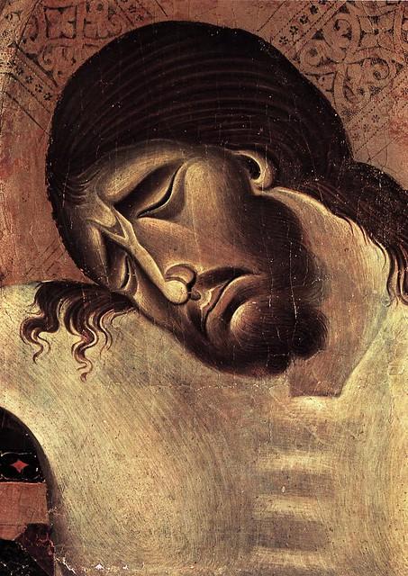 CIMABUE Crucifix (Detail), 1268-71