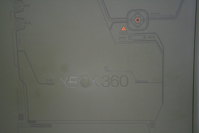 Xbox 360 Halo Edition Detail