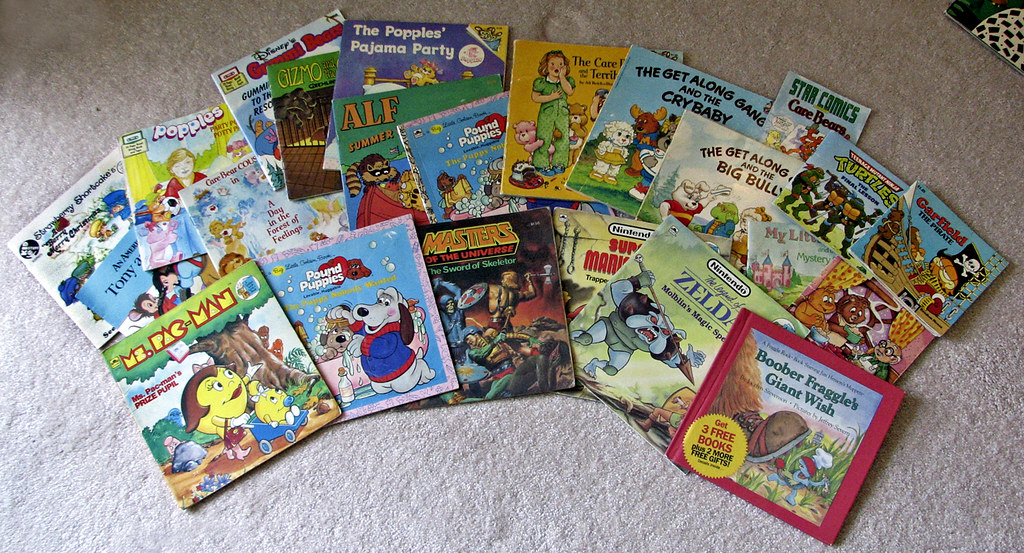 Assorted 80s Kids Books A Photo On Flickriver