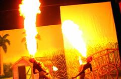 Punta Cana - Cayena Beach Club - Dominican Republic - Fire Show
