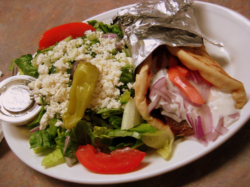 GREEK SALAD + GYRO