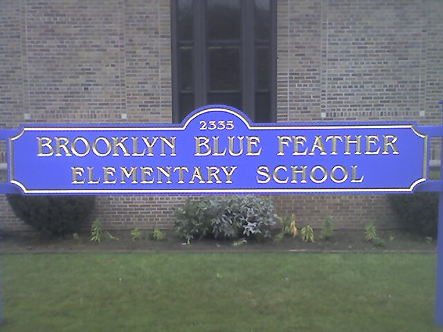 Brooklyn Blue Feather School Flickr Photo Sharing
