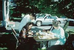 1991 cookout+FRAN/JOHN 25TH
