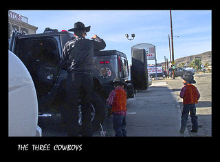 THE THREE COWBOYS