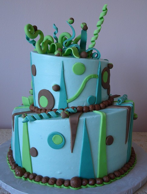 My Cake Art Elizabethton Tn : Abstract Topsy Turvy Cake Flickr - Photo Sharing!