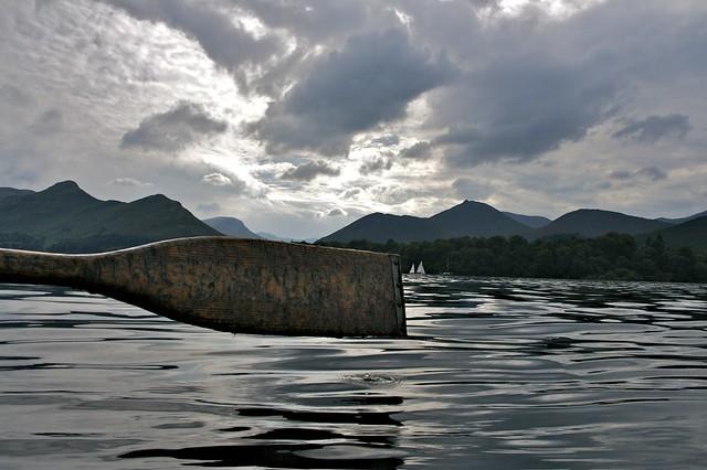 Oar against Lake District Landscape (IMG_3668)