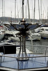 The Eternal Peace Flame, Aker Brygge, Oslo
