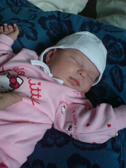 Baby Savannah.