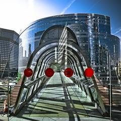 La Défense : passage entre La Pacific et Kupka