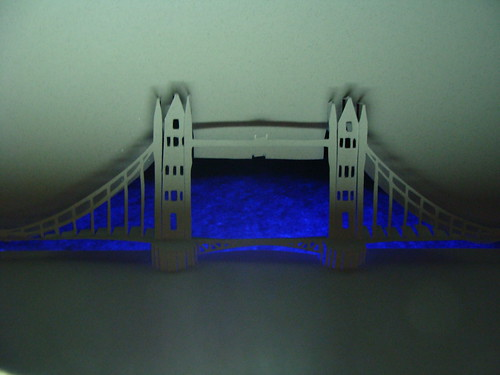 "London Bridge with Illuminated ""Water"""