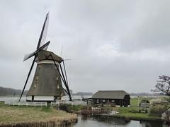Windmill at the Zevenhuizer sluice