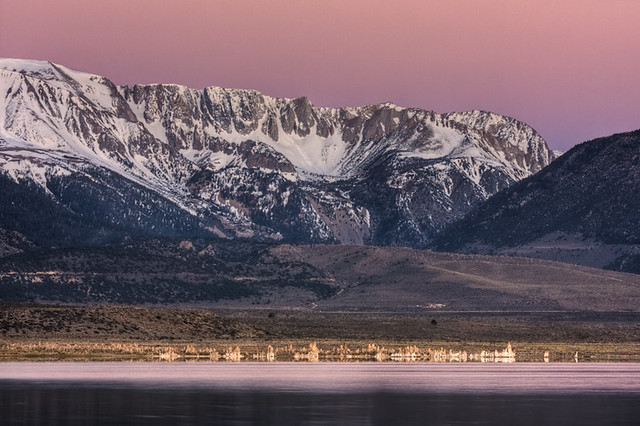 Mono Lake Sunrise Telephoto