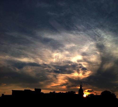 sunset maryland annapolis iphone 2011