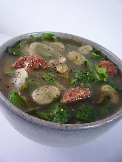 Caldo Verde - Spring Green , Chorizo, Broad Bean Soup | Flickr - Photo ...