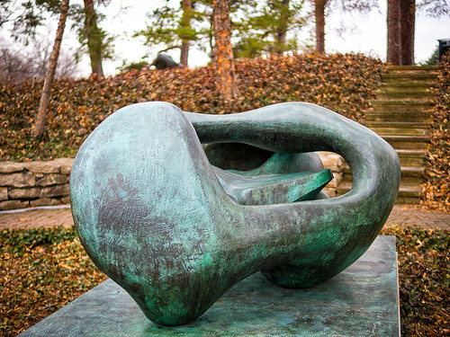 reclining connected forms - henry moore