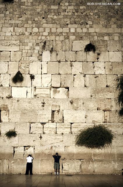 Jew Detector: The Wailing Wall, Jerusalem, Israel