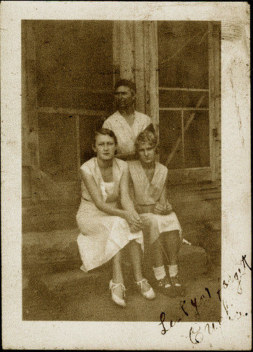 Eupha Ladd, Aunt Lillie and Mary Ladd