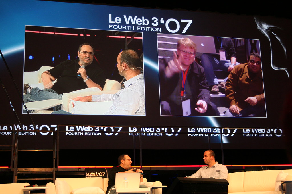 Dave Winer and Loic Le Meur - Download Photo - Tomato to - Search