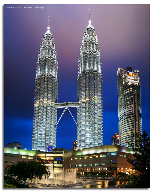 KLCC The Blue Hour - Vertorama