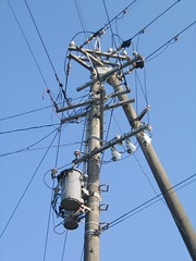 electrical supply, overhead power line, line, transmission tower, electricity, public utility,