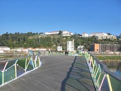 Coimbra, Ponte Pedonal Pedro e Inês. Cecil Balmond e Adão da Fonseca
