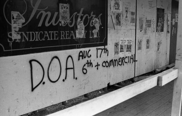 DOA gig 1980