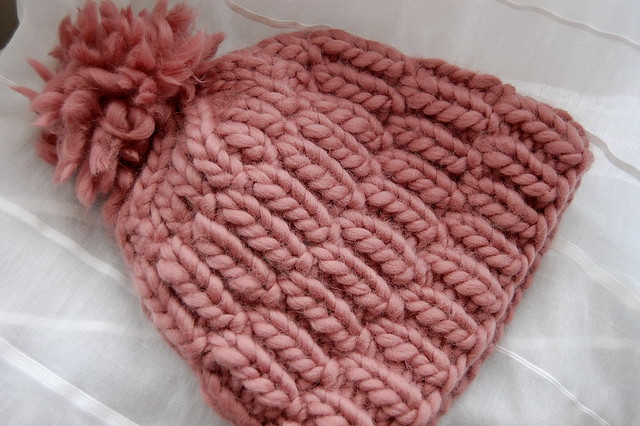 Free Knitting Patterns For Super Chunky Wool : really warm hat i knit this hat in about 2 hours yesterday? Flickr - Phot...