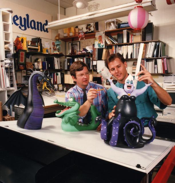 Disneyland Fantasmic River Show Models 1991