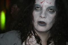 face, head, horror, goth subculture, portrait,