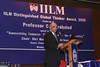 Prof C K Prahalad - Global Thinker Awardee 2008