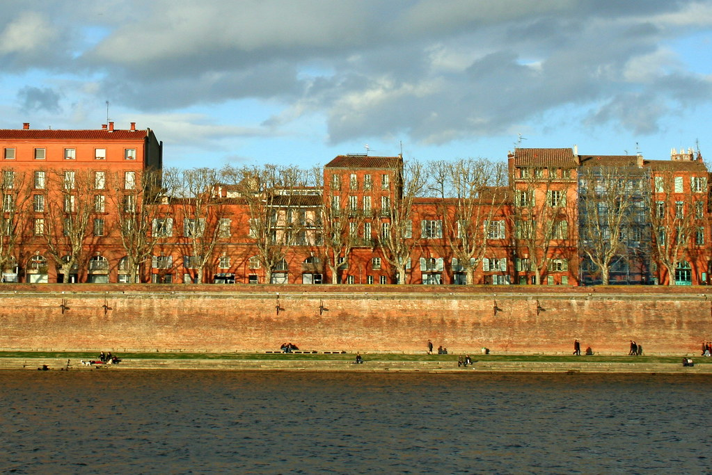 Toulouse at sunset