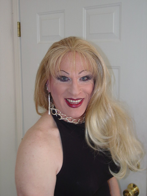 Crossdressers with Long Hair Updo