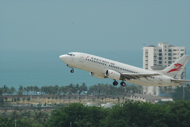 China West Air Take-Off