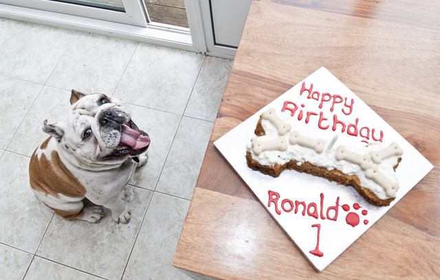 Happy birthday Ronald 1 today