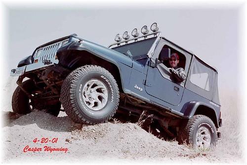 My 1995 Jeep wrangler