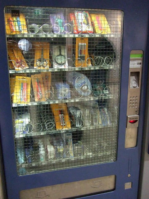 vending machine for office supplies